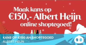 Win €150 shoptegoed