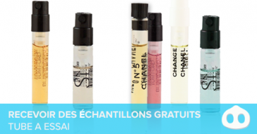 Recevoir echantillons gratuits